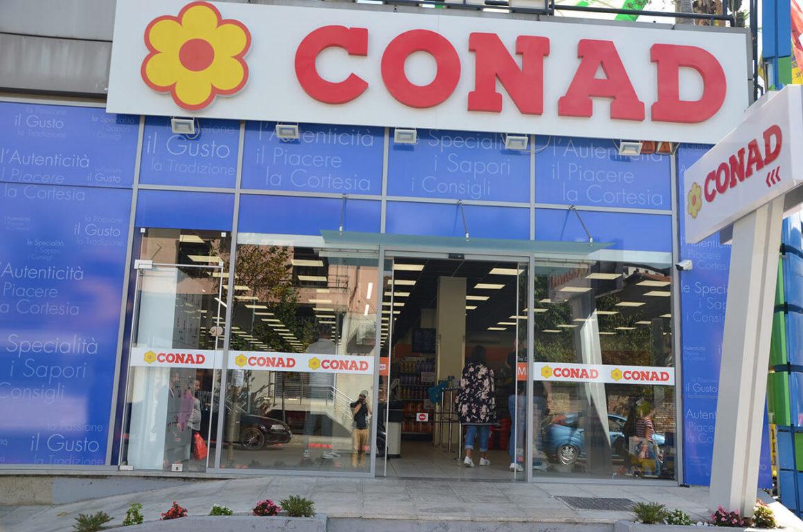"CONAD ""RR. DIBRES,TIRANE"""