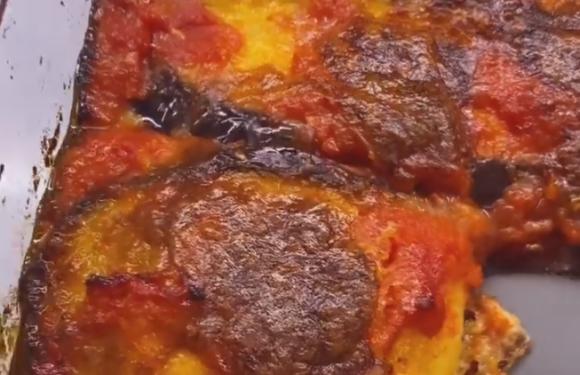 La parmigiana di melanzane